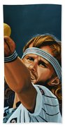 Bjorn Borg Beach Towel by Paul Meijering
