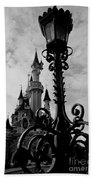 Black And White Fairy Tale Beach Towel