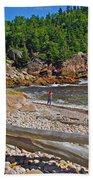Black Brook In Cape Breton Highlands Np-ns Beach Towel