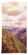 Black Canyon Colorado Beach Towel