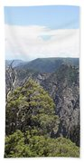 Black Canyon Of The Gunnison Panorama Beach Towel