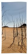Black Desert Beach Towel