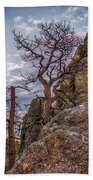 Black Hills Boulders Beach Towel