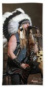 Black Label Society - Zak Wylde Beach Towel