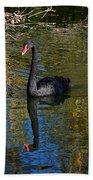 Black Swan 4 Beach Towel