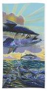 Blackfin Bust Off00116 Beach Towel