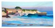 Blacks Beach - Santa Cruz Beach Towel