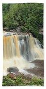 Blackwater River Falls West Virginia Beach Towel