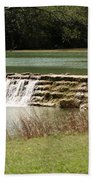 Blanco River Weir Beach Towel