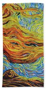 Blazing In The Light Beach Towel