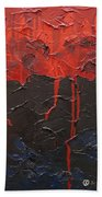Bleeding Sky Beach Towel