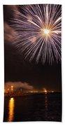 Blessing Of The Fleet - Fremantle 2am-112472 Beach Towel
