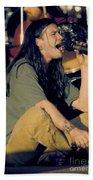Blind Melon Singer Shannon Hoon Beach Towel