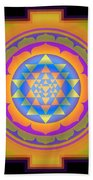 Bliss Yantra Beach Sheet