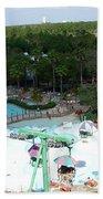 Blizzard Fun Beach Towel