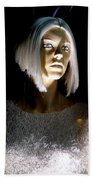 Blonde Highlights Beach Towel