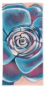 Bloom I Beach Towel by Shadia Derbyshire