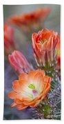 Bloom In Orange Beach Towel