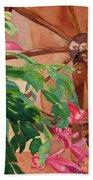 Bloomin' Cactus Beach Towel