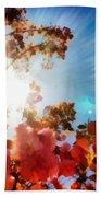 Blooming Sunlight Beach Towel
