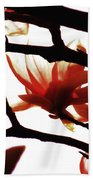Blossom Abstract Beach Towel