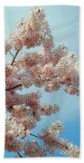 Blossom Sky Beach Towel