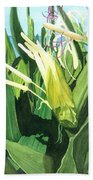 Blossoming Butterfly Ginger Beach Towel