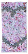 Blossoms Of Love - Cherry Blossoms 2013 - 071 Beach Towel