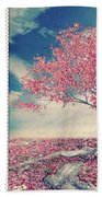 Blossoms Of Spring Beach Towel