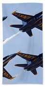 Blue Angels Over Colorado Beach Towel