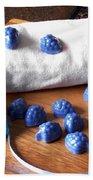 Blue Berries Mini Soaps Beach Towel