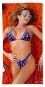 Blue Bikini 16-2p Beach Towel