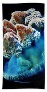 Blue Blubber Jelly - 2 Beach Towel