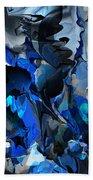Blue Chaos Beach Sheet