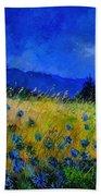 Blue Conflowers 454150 Beach Towel