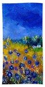 Blue Cornflowers 774180 Beach Towel