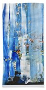 Blue Earth Abstract Beach Towel