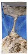Blue-footed Booby Feet  Beach Towel