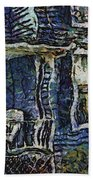 Blue Front Porch Photo Art 04 Beach Towel