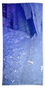 Blue Goosebumps Beach Towel