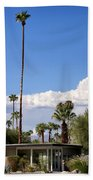 Blue Horizon Palm Springs Beach Towel