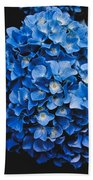 Blue Hydrangea 1 Beach Sheet