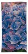 Blue Hydrangea Thank You Beach Towel