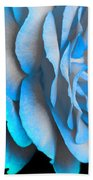 Blue Impatience Beach Towel