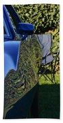 Blue Javelin Fender Beach Towel