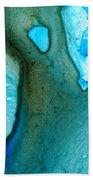 Blue Lagoon Beach Towel