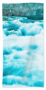 Blue Lagoon Beach Towel