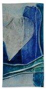 Blue Love 11 Beach Towel