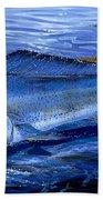 Blue Mahi Off0071 Beach Towel
