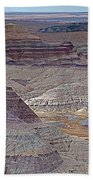 Blue Mesa At Petrified Forest National Park-arizona Beach Towel